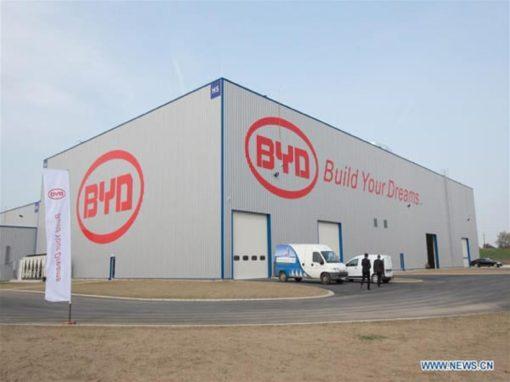 BYD elektromos buszgyár, Komárom