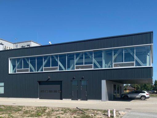 Amplio Automatika Irodaközpont-Gyár, Székesfehérvár